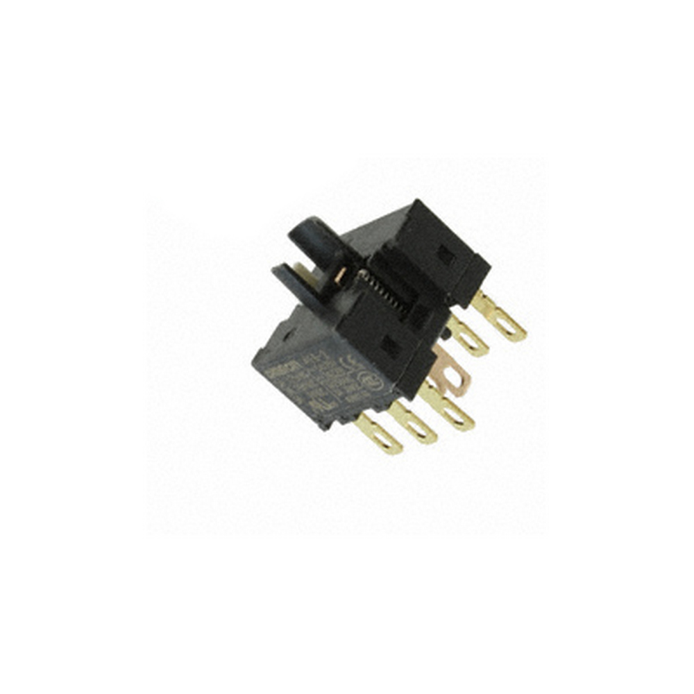 Switch unit, DPDT, 5 A (125 VAC)/ 3 A (230 VAC), for 2 position selector switch, solder terminal